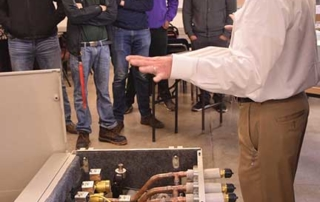 A Lennox engineer explains how the equipment works