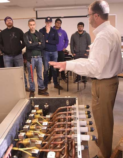 A Lennox engineer explains how the equipment works