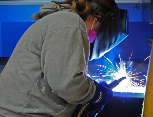 Airgas and Salina Tech host welding workshop for teachers