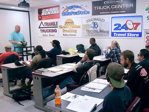 Fall 2018 CTD class in the classroom
