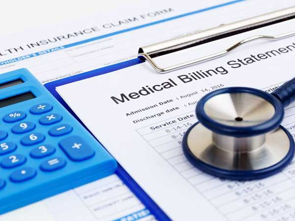 Medical billing photo illustration