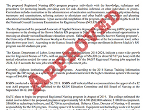 Board of Regents approves RN program
